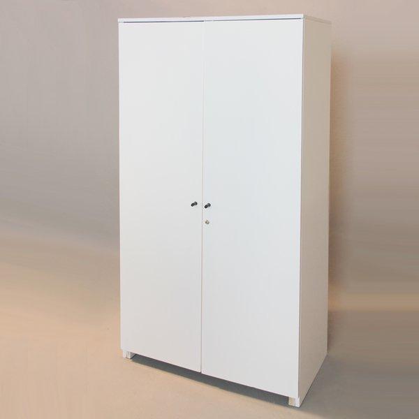 armadio 100x50x200alt cm con serratura walcher messebau. Black Bedroom Furniture Sets. Home Design Ideas